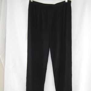 Misook L Tapered Leg Pants Fall 32 x 27 Career